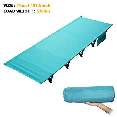 Sturdy Portable Outdoor Folding Sleeping Bed Camping Cot Tent Mat Hiking Travel