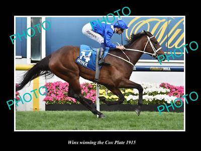 Old Large Photo Of Horse Racing Champion Winx Winning The 2015 Cox Plate