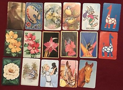 17 Mixed Collectable Swap Cards Playing Cards #33
