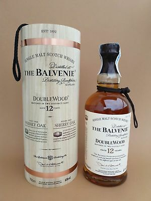 Whisky Balvenie Double Wood 12 years RARE Wooden Box