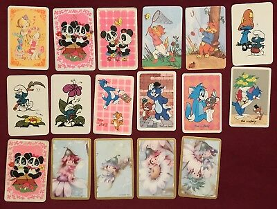 17 Cartoons Collectable Swap Cards Playing Cards #36