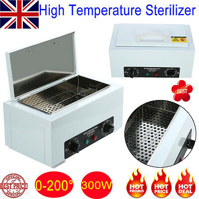 Portable Dry Heat Sterilizer Autoclave UV Autoclave Dental Medical Device in UK