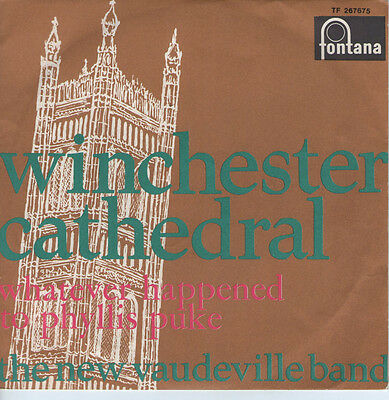 The New Vaudeville Band Winchester Cathedral/phyllis Puke 1967/b Condizioni Mint