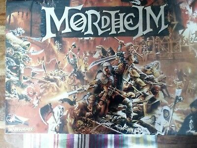 Mordheim city of the damned - opened but unused and complete, practically new