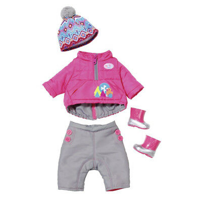 Baby Born Play & Fun Deluxe Winter Set Doll Clothes NEW