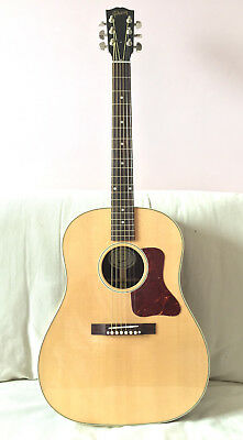 Splendide Guitare GIBSON Folk Electro J-29 Rosewood Antique Natural +Etui Gibson