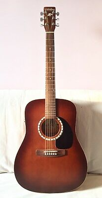 Guitare Electro-Acoustique Art et Lutherie Dreadnought CEDAR ANTIQUE BURST