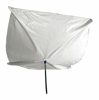 "New Pig Roof Diverter, 2 ft. 6"" x 2.5 ft., Straps, Clear, 33% Polyester, 67% PVC"