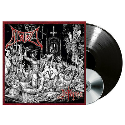 BLOOD - Inferno - LP + CD - DEATH METAL / GRINDCORE