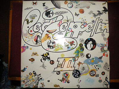 Led Zepplin III original 1970 UK Pressing, Vinyl, Excellent Condition