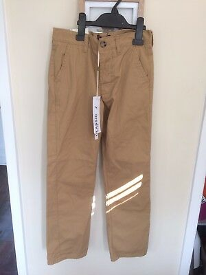 Kangol Designer Boys Chino Trousers Jeans BNWT New Age 9-10 Years Rrp £29.99