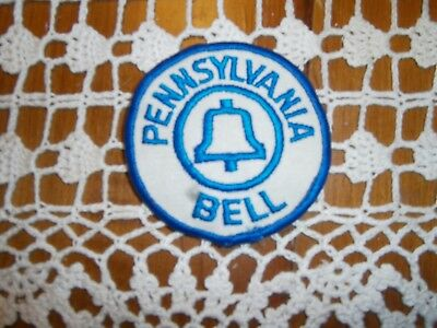 Vintage Pennsylvania Bell Telephone Shirt Patch Estate Find