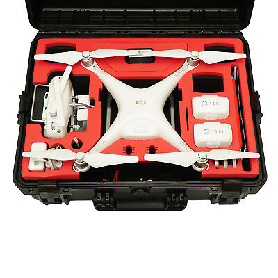 TOMcase Copter Trolley für DJI Phantom 4 & Pro/Pro Plus black/red