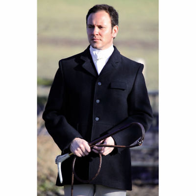 Shires Clifton Men's Hunting Jacket In Black Available In Different Sizes