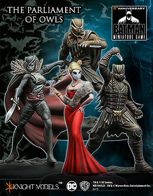 Batman Miniature Game The Court Of Owls Crew The Parliament of Owls