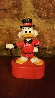 VINTAGE UNCLE SCROOGE MC'DUCK PENCIL SHARPENER DISNEY 1977 Pre owned