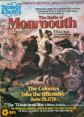 STRATEGY & TACTICS 90-SPI -The Battle of Monmouth
