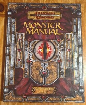 Dungeons & Dragons, Monster Manual v.3.5, Core Rulebook III