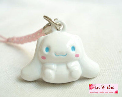 CINNAMOROLL Bell Phone Strap / Bag Charm 23 mm.