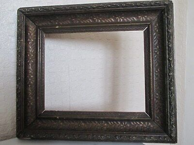 Ornate 19th Century Gilt - Gesso Frame with Floral Foliage for Picture Painting