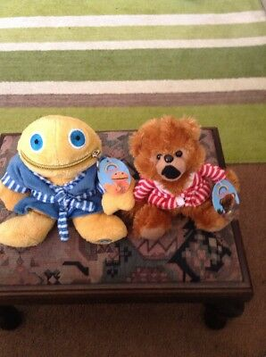 Vintage Rainbow Zippy And Bungle Soft Toy