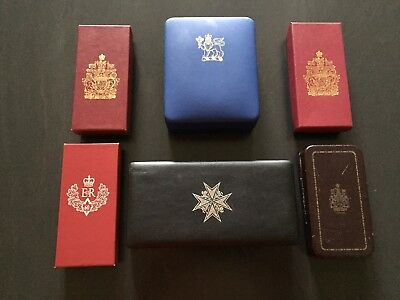Canadian Commemorative or Presentation Medal Boxes
