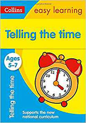 Telling the Time Ages 5-7: New Edition (Collins Easy Learning KS1), New, Collins