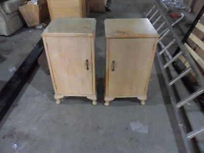 2 bedside cabinets  vintage  wrighton furniture  shabby chic  upcycling