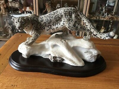 Country Artists Natural World Snow Leopard 'Mountain Spirit'