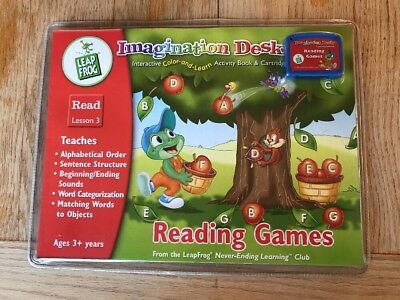 Nip Leapfrog Imagination Desk Reading Interactive Color And Learn