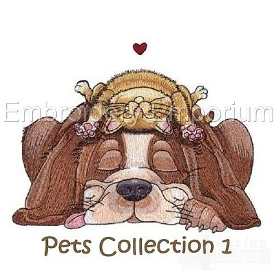 Pets Collection 1 - Machine Embroidery Designs On Cd