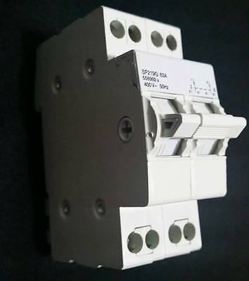 Change over switch heavy duty double pole 63 Amp