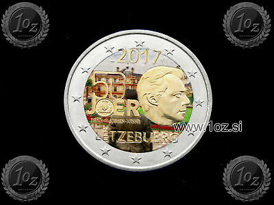 LUXEMBOURG 2 EURO 2017 ( VOULENTEER ARMY ARMEE ) Gedenkmünze FARBE / COLOUR #I