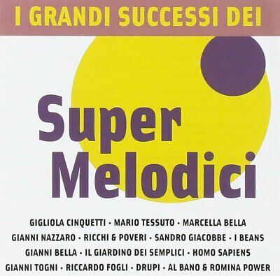 Cd I Grandi Successi Dei Super Melodici Nuovo Sigillato Originale Sealed Origina