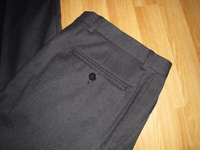 Gieves Hawkes Savile Row Trousers Designer Exquisite 34'w 31'l Made In Italy