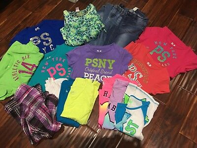 girls clothes lot size 10-12 Justice Aeropostle