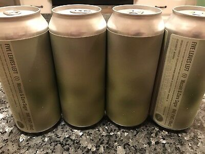 Tired Hands Brewing  - 4 Cans FIVE LEAVES LEFT (i) DIPA