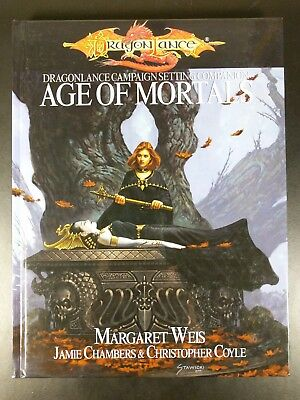 DRAGONLANCE AGE OF MORTALS D&D 3.5 2003 Dungeons & Dragons Campaign D20 NEW