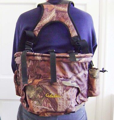 Cabela's Guide Hunting Fanny Pack Advantage Timber Camo Excellent Condition