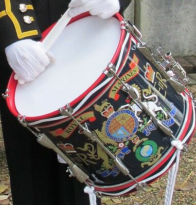 "14"" Royal Marines/RM Cadet Military Side Drum (Marching Snare Drum)"