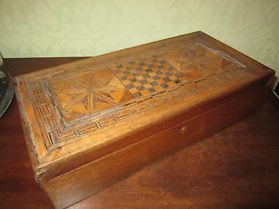 A Victorian inlaid writing slope