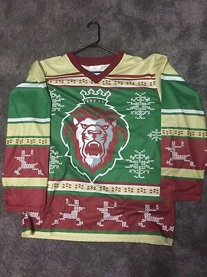 2014 Reading Royals Ugly Christmas Sweater Jersey