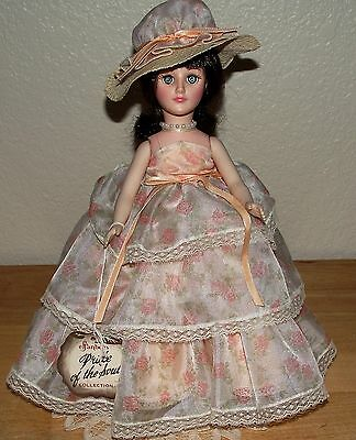 """Beautiful 12"""" Effanbee Pride of The South Natchez  Doll-Open/Close Eyes-LQQK !"""