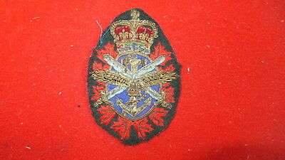 Patch - Military - Combined Forces Bullion Thread - Canada