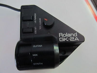 ROLAND GK-2A Divided Guitar MIDI Pickup-WITH CABLES...EXC COND.
