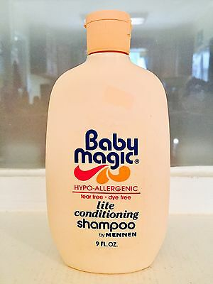 Baby Magic Light Conditioning Shampoo 9 oz. by MENNEN Vintage 1980's New