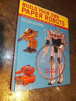 Build your own paper Robots, book and CD