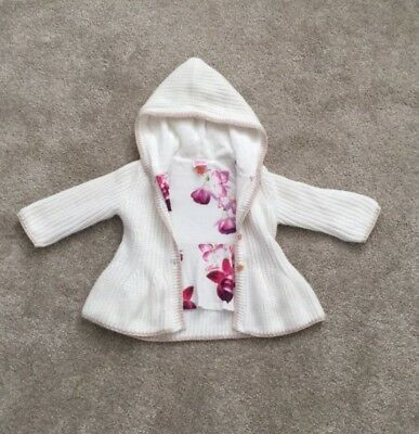 Baby Girls Ted Baker Cardigan 6-9 Months