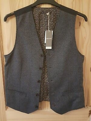 John Rocha Tweed Style waiscoat 38 inch chest Brand New With Tags