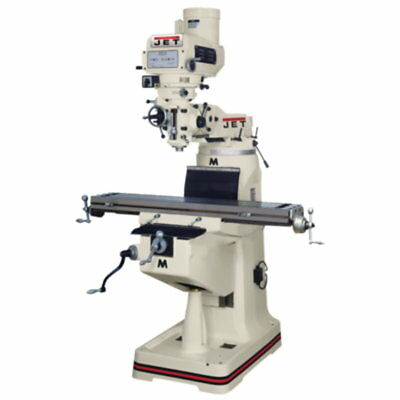 Jet 690421 JTM-4VS-1 Mill, 3-Axis ACU-RITE VUE DRO (Quill), X Y Z-Axis Powerfeed